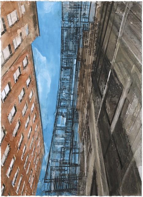 , 'New York escalier de secours II,' 2017, Galerie Arcturus