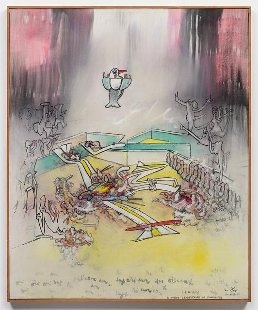 , 'Être superieur des oiseaux,' 1971, DIE GALERIE