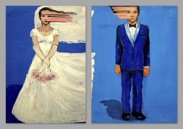 , 'Bride&Groom,' 2013, Gallery Ilayda