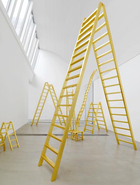 , ''Golden Ladders',' 2015, Faurschou Foundation