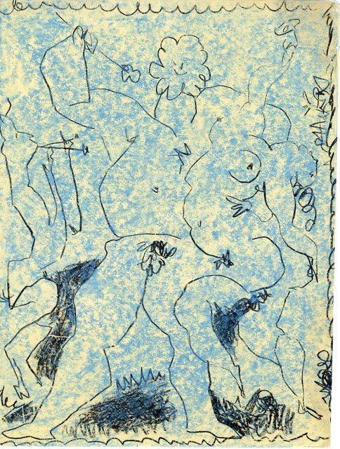Pablo Picasso, 'Original Lithograph Front Cover of Picasso Lithographic III', 1956, World of WonderMei