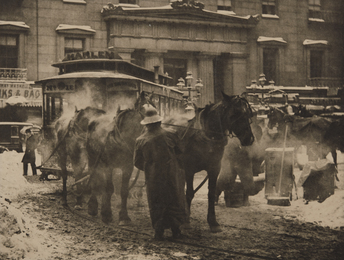 Alfred Stieglitz, 'The Terminal,' 1893, Phillips: The Odyssey of Collecting