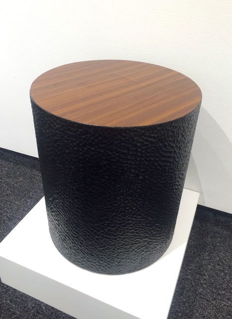 , 'Walnut Drum Table,' 2015, Gallery NAGA