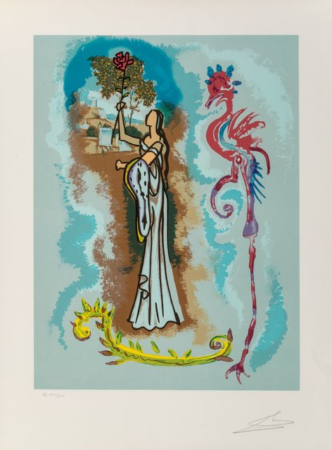 Salvador Dalí, 'Rowena, from Ivanhoe', 1978, Heritage Auctions