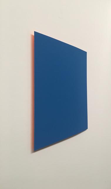 , 'Blue: Orange,' 2018, Galerie Wenger