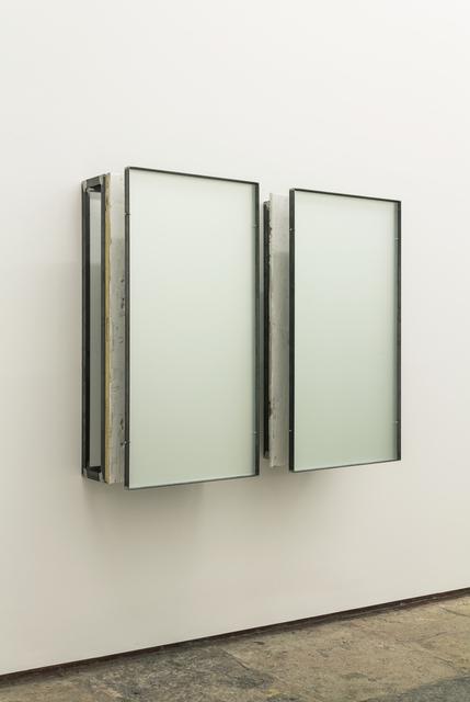 , 'construção com branco 3 | construction with white 3 (diptych),' 2012-2015, 3+1 Arte Contemporânea