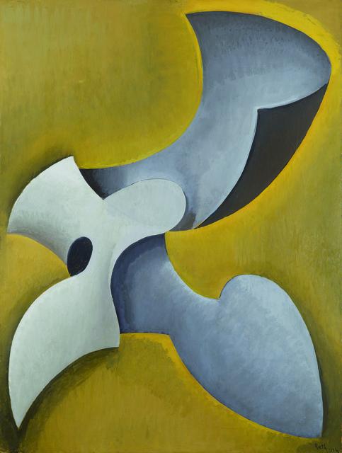 , 'Forme dans l'espace,' 1934, Galerie Le Minotaure