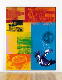 Robert Rauschenberg, 'Spindlegrip (Urban Bourbon),' 1988, Sotheby's: Contemporary Art Day Auction