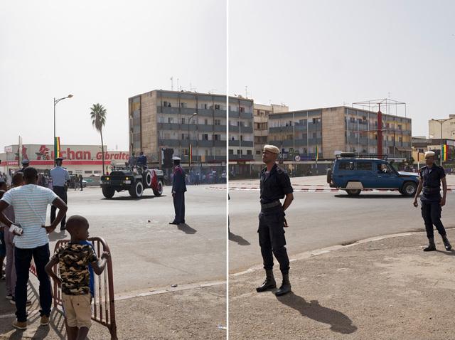 , 'Boulevard du Général de Gaulle, Dakar,' 2017, Stevenson