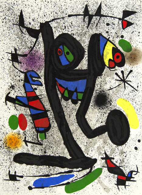 Joan Miró, 'Butterfly Girl', 1971, Heather James Fine Art Gallery Auction