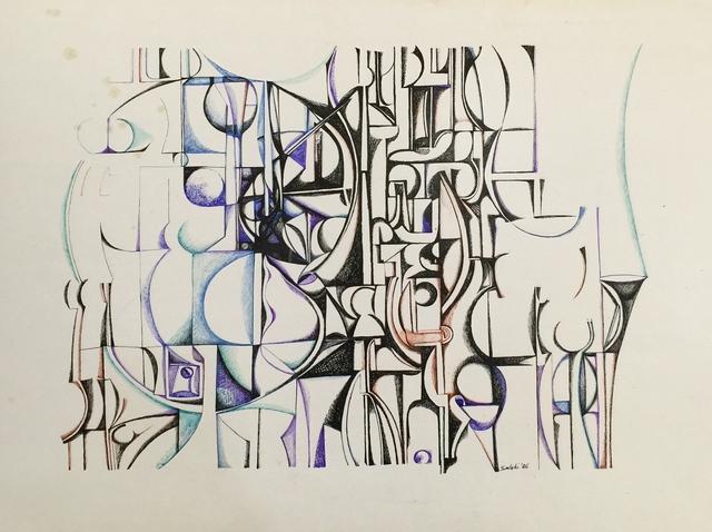 Ibrahim El-Salahi, 'Untitled', 1968, Vigo Gallery