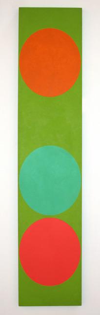 Oli Sihvonen, '3 on Green (116)', 1963, Painting, Oil on canvas, David Richard Gallery