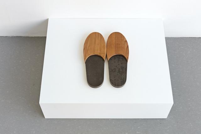 , 'Untitled (slippers),' 2017, MKG127