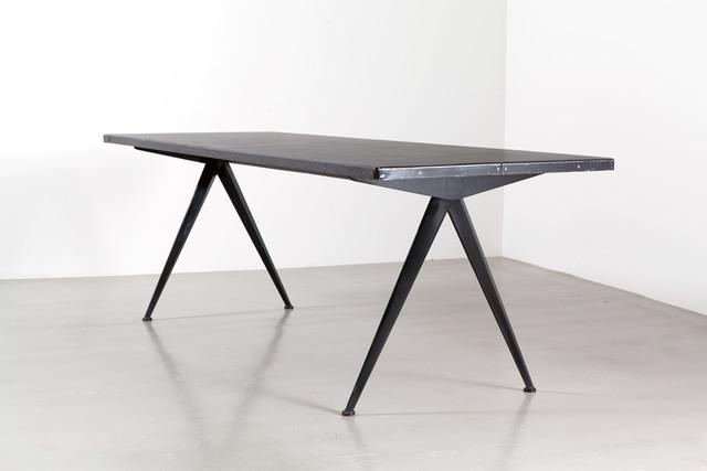 , 'Cafétéria no. 512 table, a.k.a. «Compas» table,' 1953, Galerie Patrick Seguin