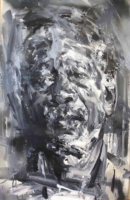 Paul Wright, 'Morgan Freeman (Between The Light & The Dark)', 2017, Maddox Gallery