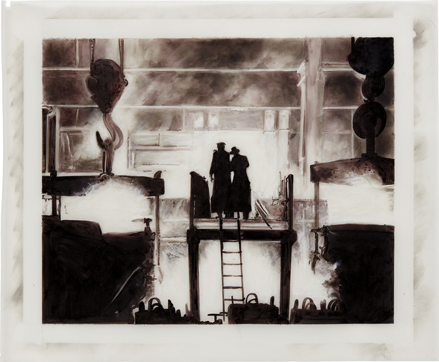 Robert Longo, 'Untitled (Factory) (from Magellan)', 1996, Phillips