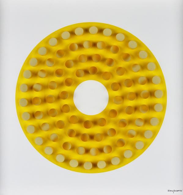 , 'Golden Dowels on Yellow,' , Gormleys Fine Art