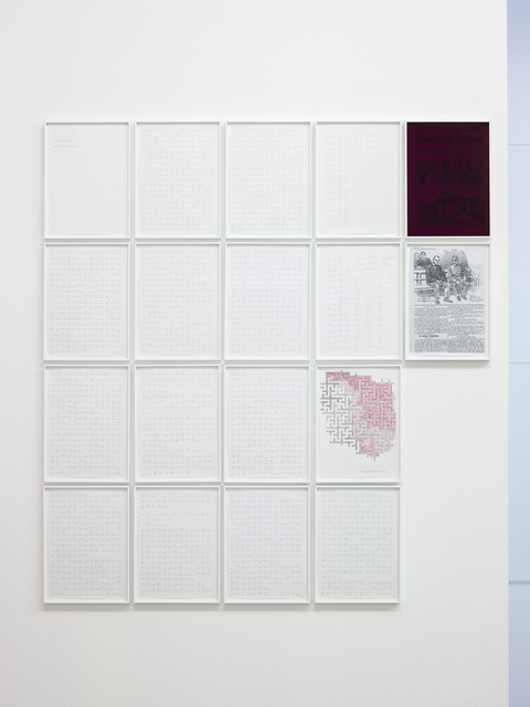 Michael Müller, 'Moosbrugger tanzt (Kap. 87)', 2013, Galerie Thomas Schulte