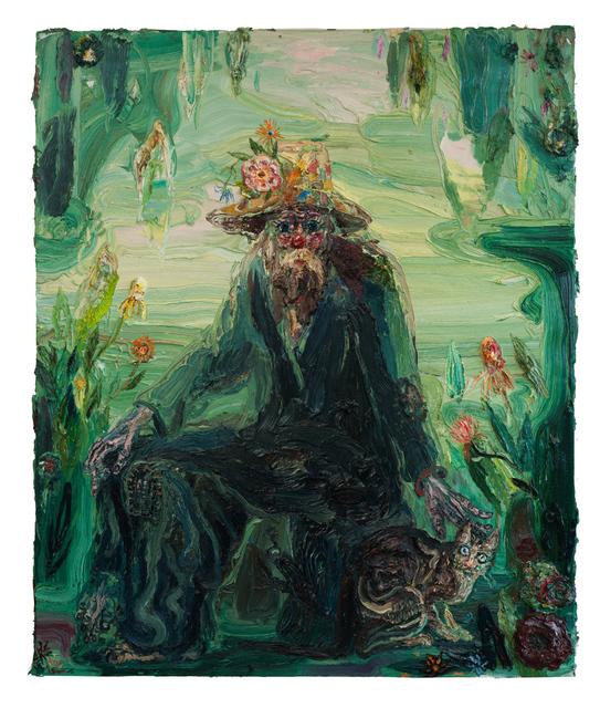 Allison Schulnik, 'Cemetery Boo #2', 2012, Sean Horton (presents)