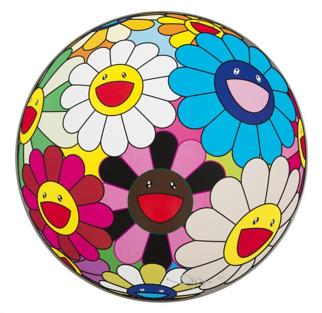 Takashi Murakami, 'Flower Ball (Algae Ball)', 2013, Julien's Auctions
