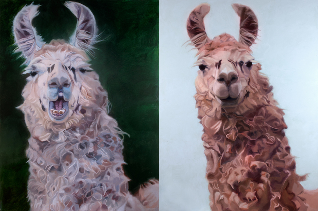 , 'LLLLamas,' 2015, The Lionheart Gallery