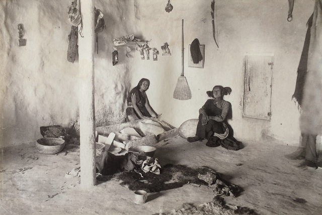, 'Hopi Towns, Grinding Corn, Tewa,' ca. 1895, Michael Dawson Gallery