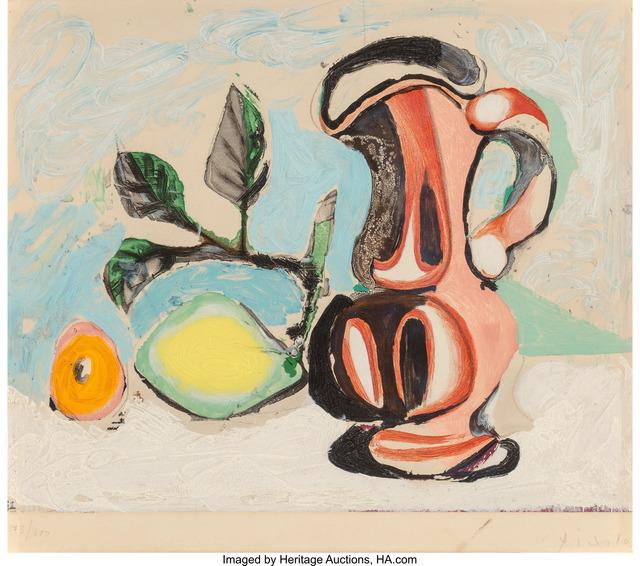 Pablo Picasso, 'Nature morte au Citron et au Pichet rouge', c. 1960, Heritage Auctions