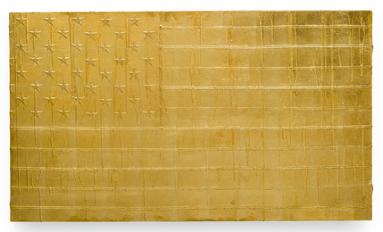 Andrew Schoultz, 'Melting Flag 2,' 2011, Sotheby's: Contemporary Art Day Auction
