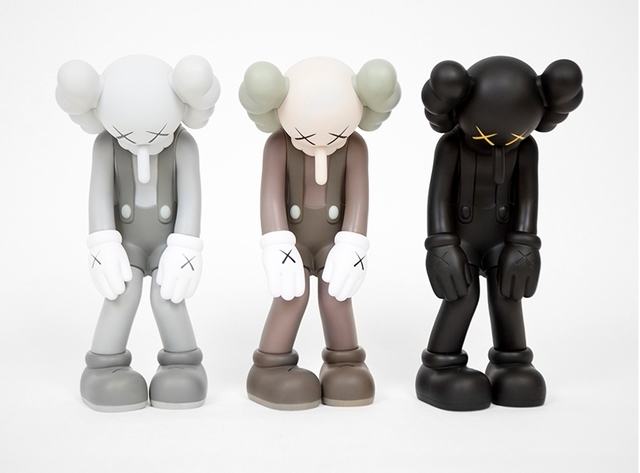 "KAWS, 'Small Lie (Complete set; brown, black and grey""', 2017, Emily Friedman Fine Art"