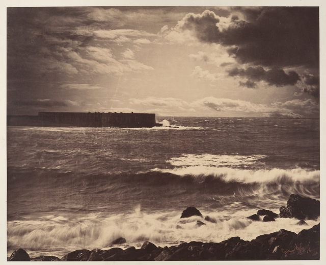 Gustave Le Gray, '[The Great Wave, Sète]', 1857, The Metropolitan Museum of Art