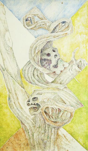 Marie Vorobieff Marevna, 'Skulls in a tree', c.1970, Roseberys