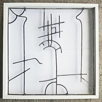 Juan Garaizabal, 'Sketch Gateway II', 2018, Sculpture, Steel, Bogena Galerie