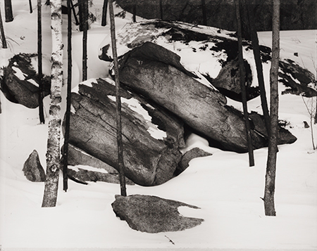 , 'Stones and Birch in Snow, Essex, MA,' 1960, Pucker Gallery