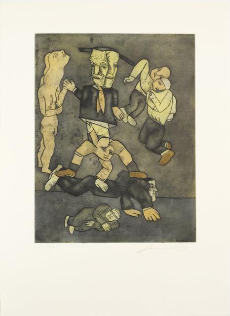 , 'Cirqueros,' 1998, Galería Nudo