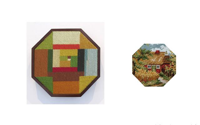 , 'abeto con cabañas y montañas de fonso,' 2013, Wu Galeria