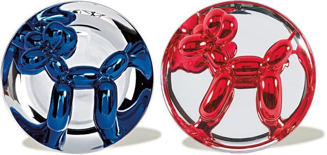 , 'Blue & Red Balloon Dog Set,' 1995-2002, Joseph K. Levene Fine Art, Ltd.
