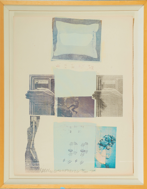 Robert Rauschenberg, 'Two Reasons Birds Sing, from Suite of Nine Prints', 1979, Rago/Wright
