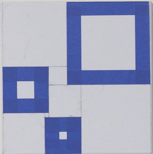 , 'Untitled (9 Squares) 17080/18012,' 2017-2018, Robert Kananaj Gallery