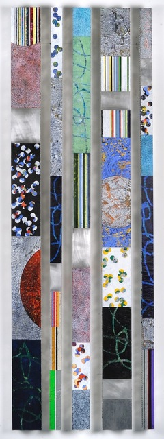 Francie Hester, 'Strata Series 17 Set F', 2017, Painting, Acrylic and wax on aluminum panel, Susan Eley Fine Art