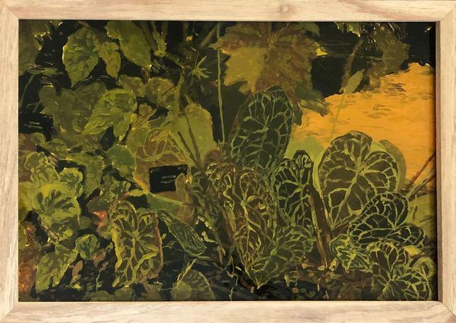 Isabella Kuijers, 'Kew II', 2019, Painting, Acrylic on glass, 99 Loop Gallery