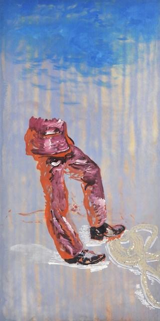 , 'Mann mit Seil,' 2011, Flowers