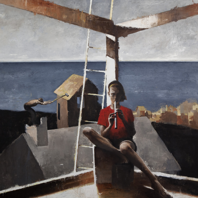 , 'The Blind Musician ,' 2016, Gallery Henoch