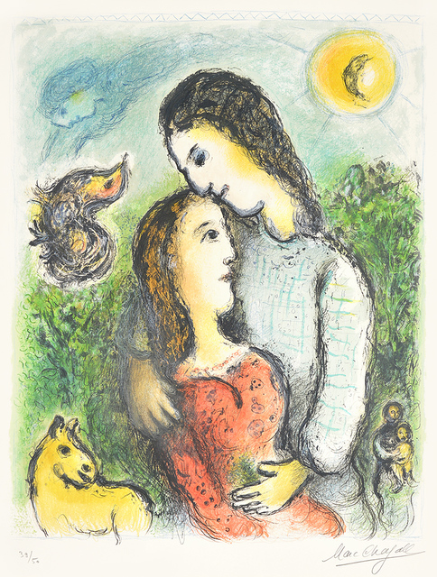 , 'Marc Chagall Les Adolescents (The Adolescents),' 1975, Masterworks Fine Art