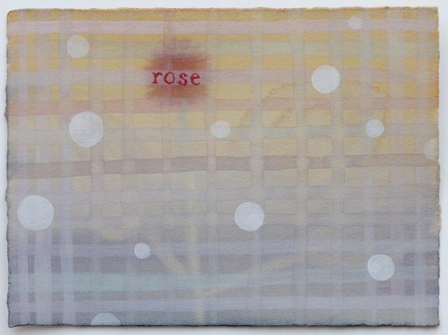 Julia Kuhl, 'Domestic Textiles Series, Rose', 2019, frosch&portmann
