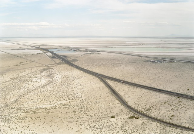 , 'Untitled (potash mine, distant view), Wendover, UT,' 2004, Hostler Burrows