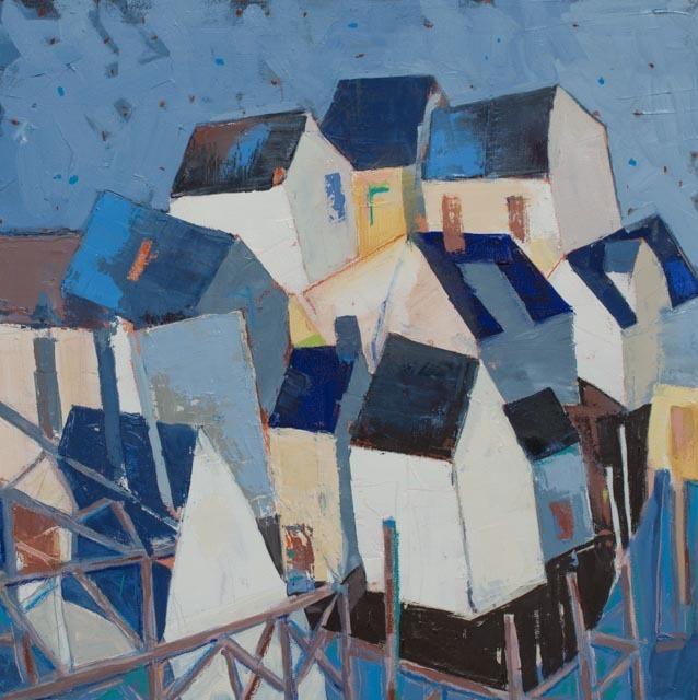 , 'Town Pier #25,' 2017, Galatea Fine Art