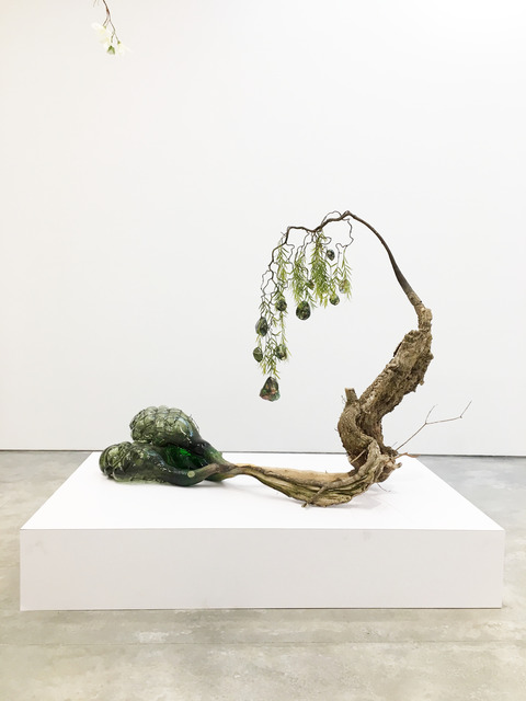 , 'Of Beauty and Decay; or, not (purple),' 2018, Malin Gallery