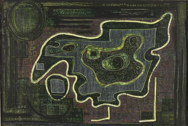, 'Fossiliferous Mosaic,' 1946, Aaron Payne Fine Art