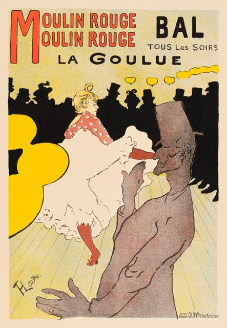 , 'La Goulue - Moulin Rouge,' 1898, Galerie d'Orsay