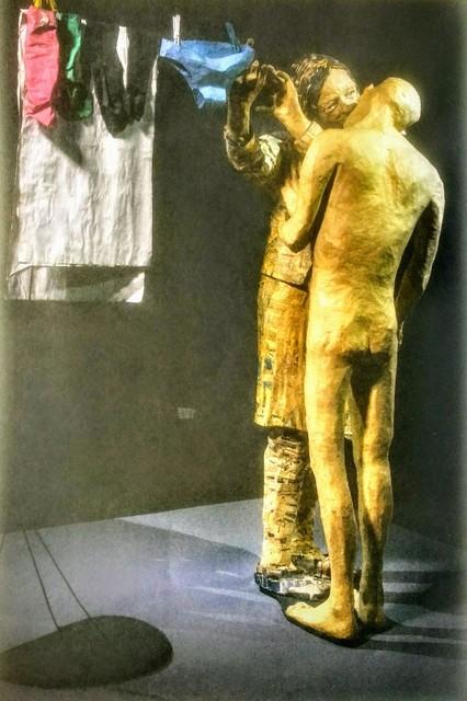 Juan Pablo Langlois Vicuña, ' La Lavandera, de la serie: Papeles ordinarios', 2000-2005, Galeria AFA